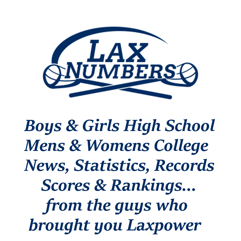 LAX Numbers